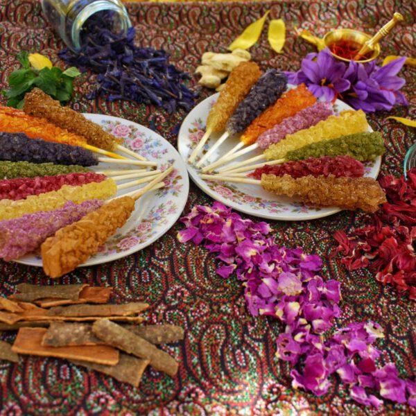 پولکی نبات اصفهان
